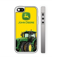 GOWENXDCD - John Deere Green Tractor Custom Case for Iphone 4 4s 5 5c 6 6plus (iphone 6plus white)