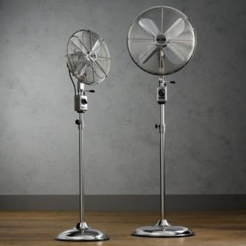 Allaire Telescoping Floor Fan | Fans | Restoration Hardware