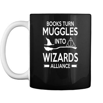 Out of Print Womens Harry Potter Series Book Themed Mug