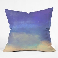 Deny Designs Bonne Nuit Blue Pillow Blue Combo  In Sizes Small For Women 27339024902