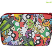 NEW Gamer Bag | Pokemon | Poke Ball | Mario Brothers | Zelda | Pacman | Sonic | Portal | Companion Cube