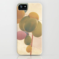 The Vintage Balloons iPhone & iPod Case by Hello Twiggs