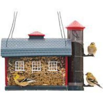 Heritage Farms - Red Barn Combo Feeder