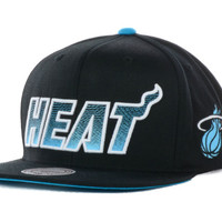 Miami Heat NBA Gamma Blue Hook Up Snapback