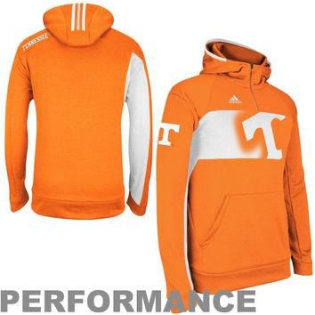adidas Tennessee Volunteers Player Pullover Performance Hoodie Sweatshirt - Tennessee