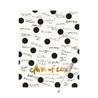 Graduation Party Decorations -- Connect The Dots Guest Book Print | Pear Tree Greetings