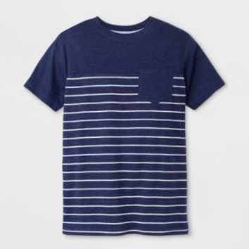 Boys' Short Sleeve T-Shirt - Cat & Jack™ Blue