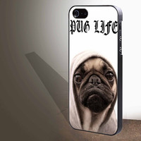 "Funny Pug Life for iphone 4/4s/5/5s/5c/6/6+, Samsung S3/S4/S5/S6, iPad 2/3/4/Air/Mini, iPod 4/5, Samsung Note 3/4 Case ""005"""