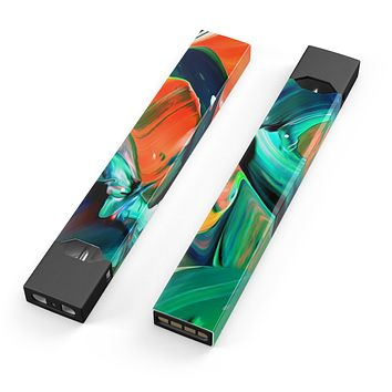 Skin Decal Kit for the Pax JUUL - Blurred Abstract Flow V47