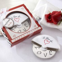 A Slice of Love Stainless Steel Pizza Cutter