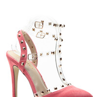 Coral Rubicon Point Heels