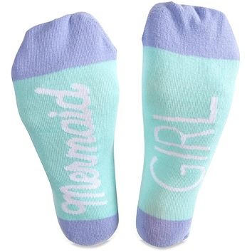 Mermaid Girl - Ladies Cotton Blend Socks