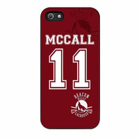 teen wolf mccall lacrosse jersey new design cases for iphone se 5 5s 5c 4 4s 6 6s plus