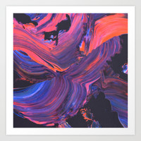 untitled Art Print by Djuno Tomsni