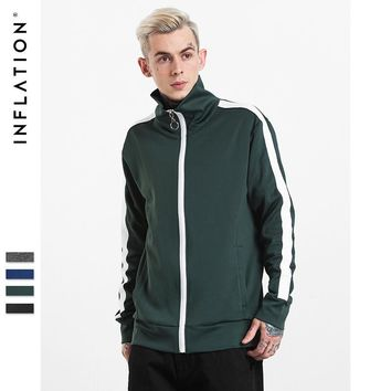 Jacket Men's Fashion Stripes Vintage Couple Sportswear [10881219843]