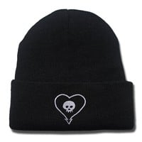 Alkaline Trio Band Logo Beanie Fashion Unisex Embroidery Beanies Skullies Knitted Hats Skull Caps