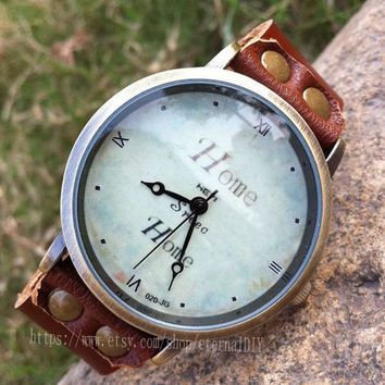 Unisex leather watches, Home watches, you're worth it