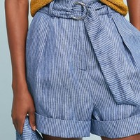 Mara Hoffman Striped Linen Shorts