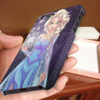 princess, elsa frozen 3D Phone Case for iPhone 4,iPhone 4s,iPhone 5,iPhone 5s,iPhone 5c,Samsung Galaxy s3,samsung Galaxy s4