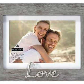 Malden Love 4x6 Photo Frame