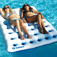 New Solstice16151SF Aqua Window Duo Swimming Pool Float Lounge Mattress Mat Toy