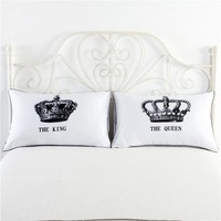New Emoji Pillows For Sleeping 2017 Funny Cotton Letter Pillowcase Cover Bedding For Body Pillows 50*70 cm  Long Neck Cushion