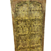 Hand Carved Antique Cabinet Spiritual Yoga Decor Fort Myers