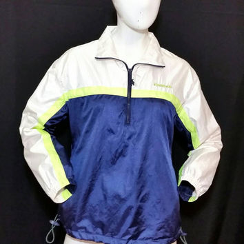 Vintage Reebok Women's 1980s Windbreaker Pullover/Reebok Fashion
