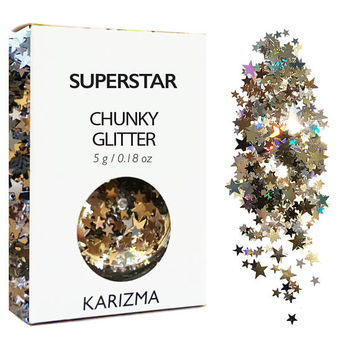 Superstar Glitter Face Body Nails Hair Festival Gems Beauty Makeup  Accessories  Holiday Beach Birthday Gift For Her