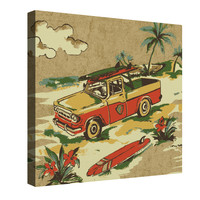 Surf's Up Canvas Wall Art