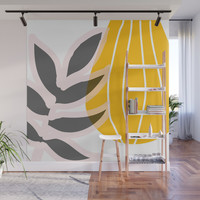 Calabassa #society6 #buyart #decor Wall Mural by mirimo