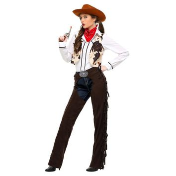 Adult Western Cowgirl Women's Costume