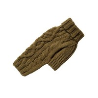 Nantucket Cable Knit Wool Sweater — Loden