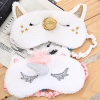 1PCS Unicorn Eye Sleep Mask