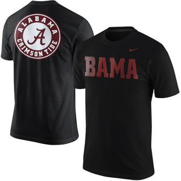 Alabama Crimson Tide Nike Local Attribute T-Shirt – Black