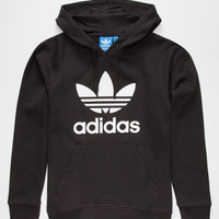 Adidas Originals Trefoil Mens Hoodie Black  In Sizes