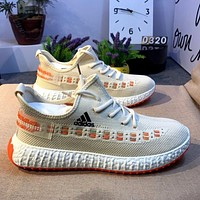 ADIDAS Trendy fly-woven mesh wild coconut shoes