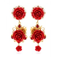 dolce & gabbana - clip-on earrings