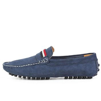 Big Size Fashion Suede Men Loafers, High Quality Men Driving Shoes, Slip On Leather Men Moccasin