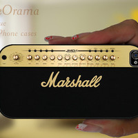 Guitar Amplifier Marshall iPhone 5 case - iPhone 5 hard case, iPhone 5 cover, iPhone hard case