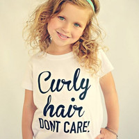 White T-shirt Clothes Girl 2-6Y Baby Kids Girls Clothing Summer Letter Print Tops Short sleeve Cotton Letter Printed