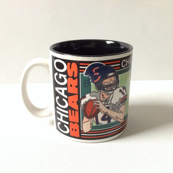 Chicago Bears Football Team NFL Coffee Mug - 90s Vintage Coffee Mug - Gift for Him - Football Fan