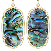 DANIELLE EARRINGS IN ABALONE SHELL BY Kendra Scott