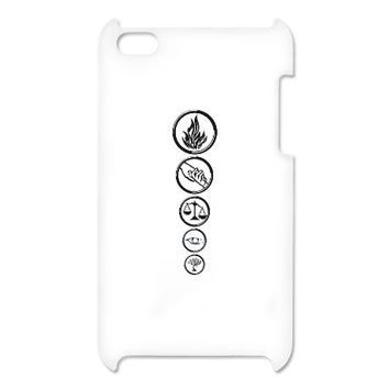 Four's Tattoos - Divergent iPod Touch Case on CafePress.com