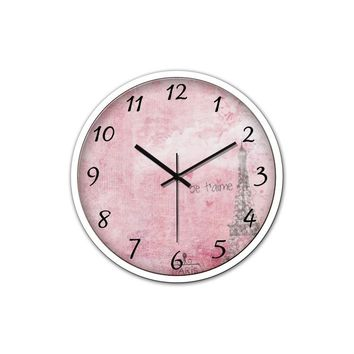 Paris Silent Wall Clock