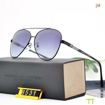 Porsche Fashion New Polarized Glasses Business Casual Sunscreen Eyeglasses Men