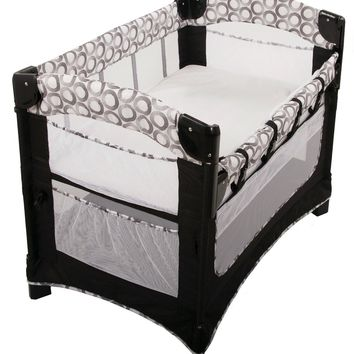 Arm's Reach Ideal Ezee 3 in 1 Baby Co-Sleeper Bedside Bassinet Circle NEW