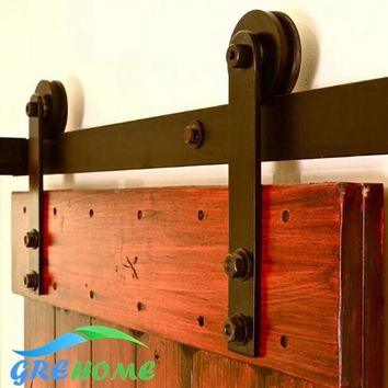 Carbon Steel Sliding Barn Door Hardware