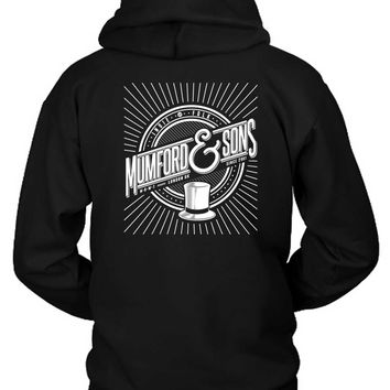 Mumford And Sons Logo Indie Folk London Uk Hoodie Two Sided