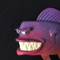 Uncle Charles - Fish With Attitude - Artist Mike Quinn